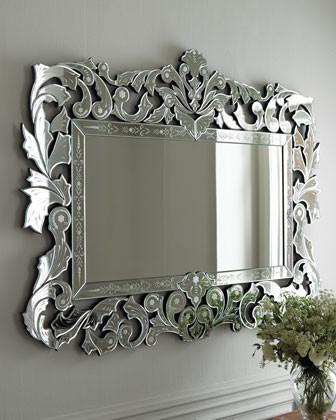 'Giorgia' Venetian-Style Mirror mediterranean-mirrors