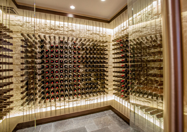 Contemporary Wine Cellars by Kessick contemporary-wine-cellar