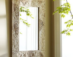 Floria Carved Mirror eclectic-wall-mirrors