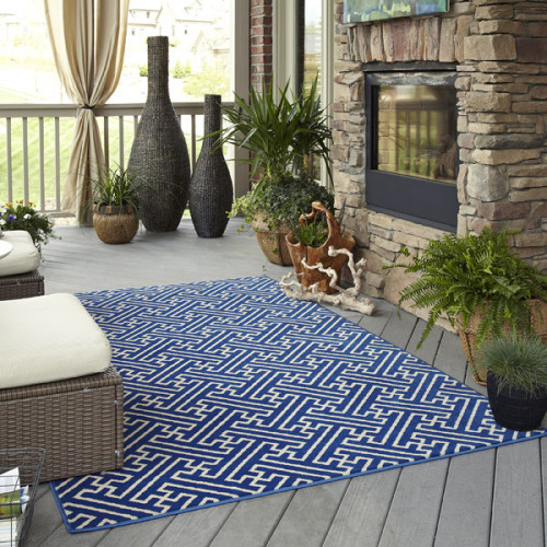 Mohawk Home Maze Wildaster Indoor Outdoor Rug