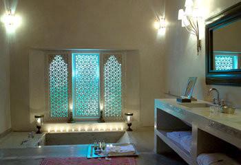 Moroccan Zen Bathroom mediterranean