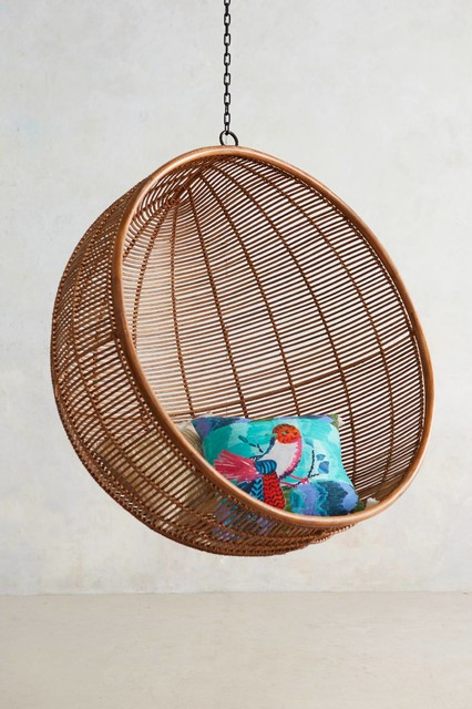 Rattan hanging chair tropical hammocks and swing chairs by