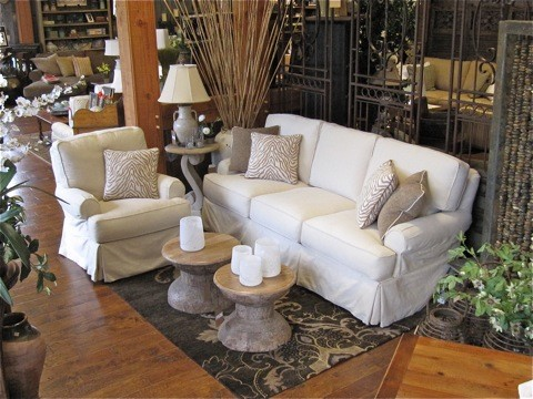 Country Willow Showroom eclectic-living-room