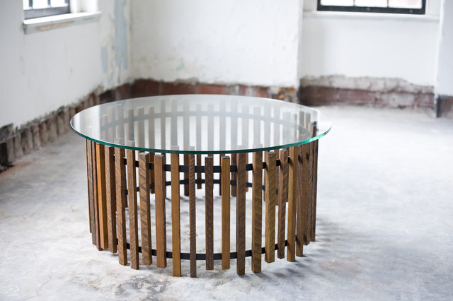 Hank Drum Table modern-coffee-tables