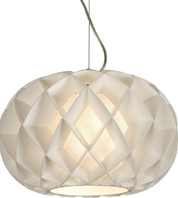 Honeycomb Pendant Light: Honeycomb Oval Pendant