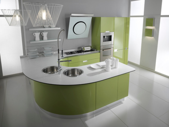 ROLLY collection modern-kitchen-cabinetry