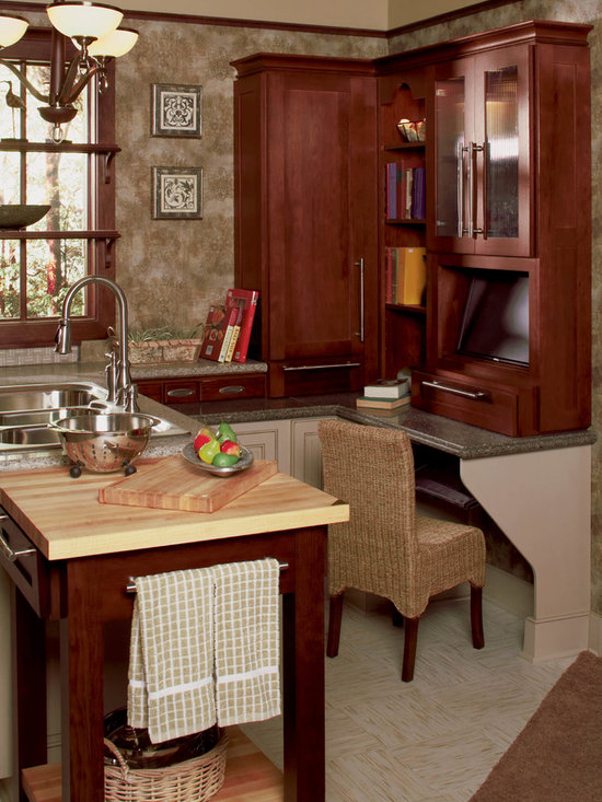 Hanover Hickory Door Style finished in Sienna Charcoal -