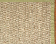 Color-Bound Seagrass Rug contemporary rugs