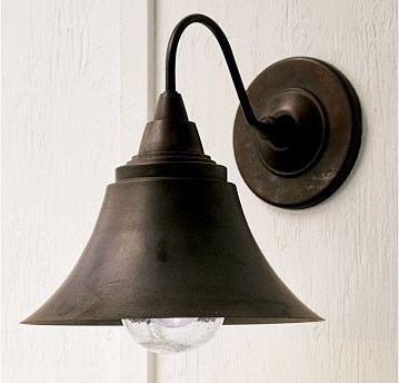 Barnard Sconce - traditional - outdoor lighting - - by Pottery Barn