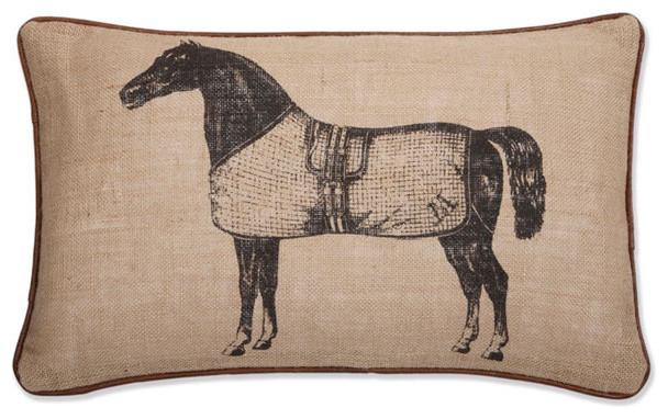 Thomas Paul Pony Pillow eclectic-decorative-pillows