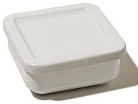 Programma 8 Square Container With Lid by Franco Sargiani and Eija Helander (Set modern-food-storage-containers