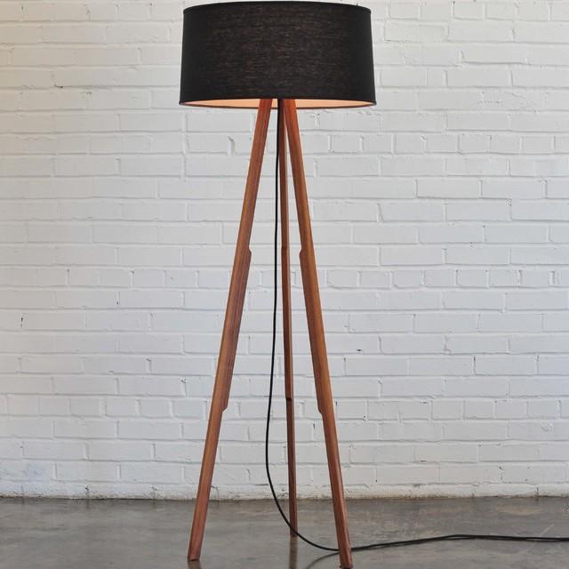 Solstice Floor Lamp Black Modern Floor Lamps