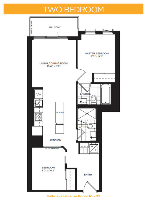 Downtown condo 708 sf need inspiration for such small rooms for 9x9 kitchen layout