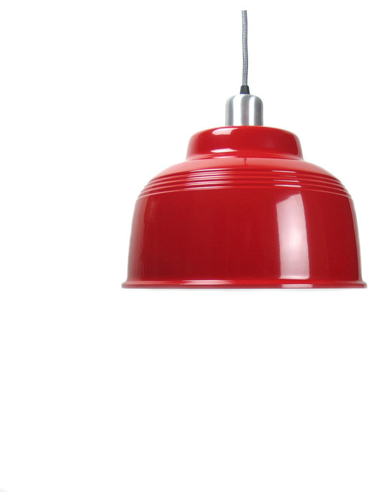 Cafe Lamp - Red -