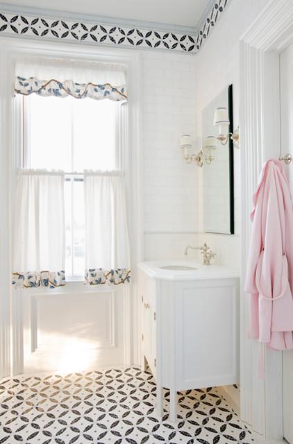 Historic Restoration traditional-bathroom