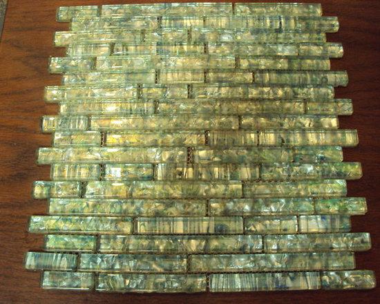 Santa Fe Equinox Abalone - Glass tile mosaic