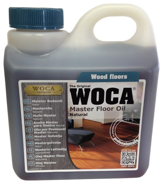 WOCA Master Floor Oil 1 Liter, Natural industrial-vacuum-and-floor-care-accessories