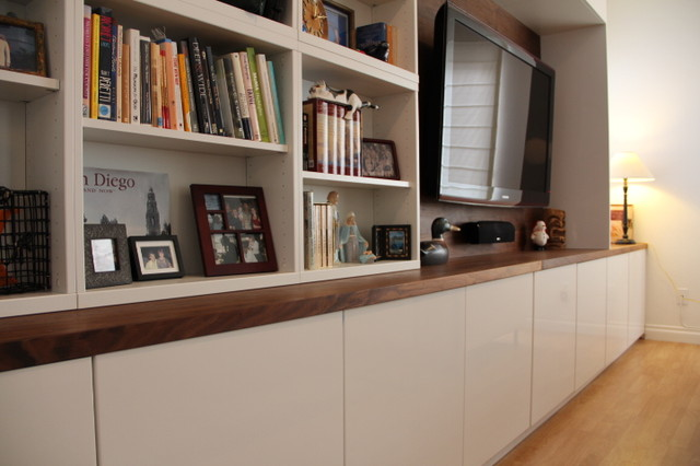 Modern Besta Wall Unit San Diego By Boswell