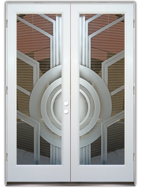 Glass Front Doors - Sun Odyssey 3D Clear Background contemporary-front-doors