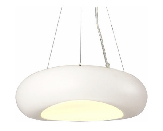 Nice Refined Hanging Pendant Light White - SOLD OUT~
