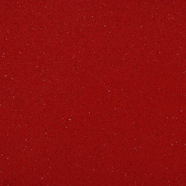 Red Quartz Countertops : Red shimmer caesarstone quartz countertop