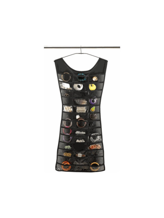 Hanging Jewelry Organizer, Little Black Dress -