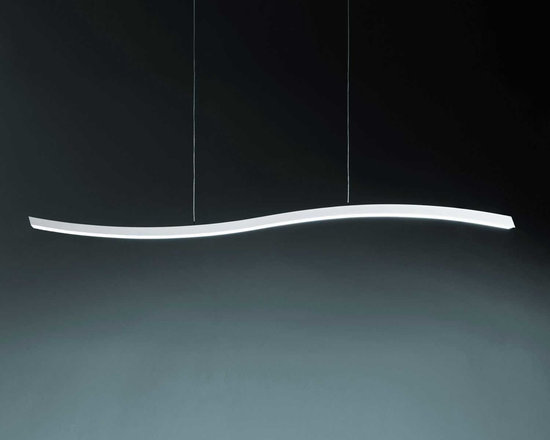 Serpentine Linear Suspension by Fontana Arte