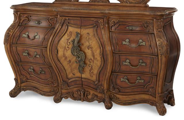 Palais Royale Triple Dresser traditional-dressers
