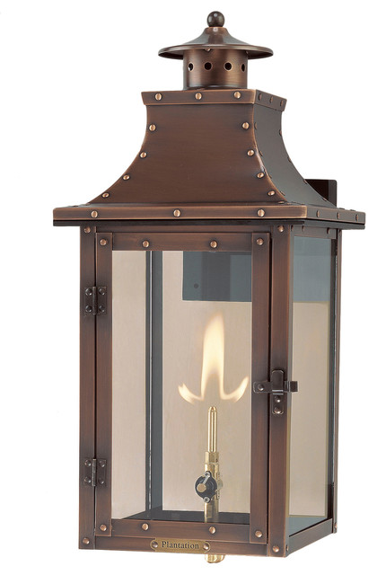 Outdoor Lighting Electric The Sylvan Springs Lantern Traditional Wall