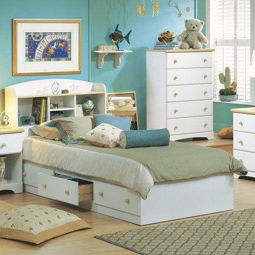Modern Box Bed Designs in Wood Bed Box Modern Kids Beds