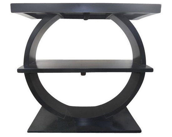 SOLD OUT! Pair of Art Deco End Tables - $3,000 Est. Retail - $1,100 on Chairish. -