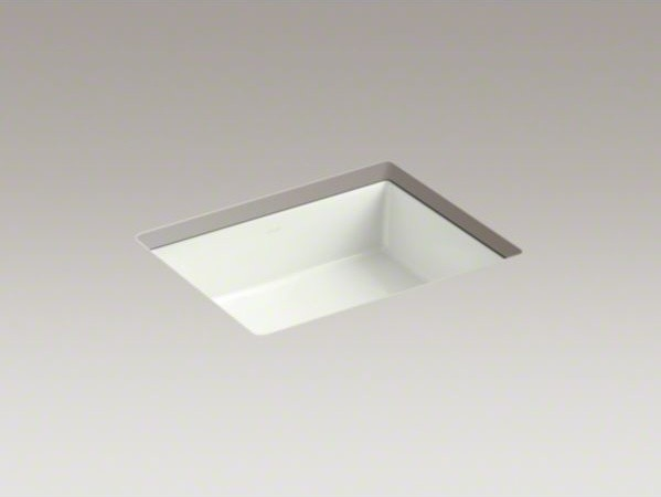 Bathroom Sink Rectangular : ... TM) rectangular under-mount bathroom sink contemporary bathroom sinks