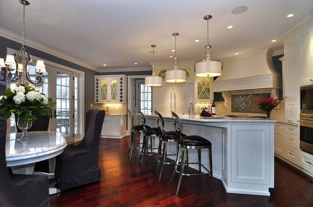 Modern victorian traditional kitchen other metro for Modern victorian kitchen design
