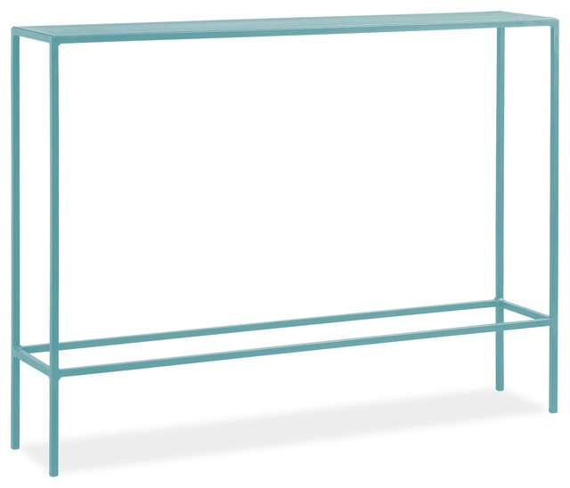Slim Console Table, Ocean - Modern - Side Tables And End Tables - by ...