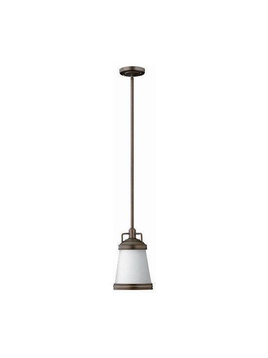 Hinkley Lighting 3101OB 1 Light Pendant Mid-Pendant Collection -