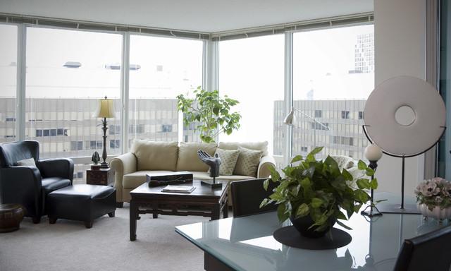 Rita O'Brien eclectic-living-room