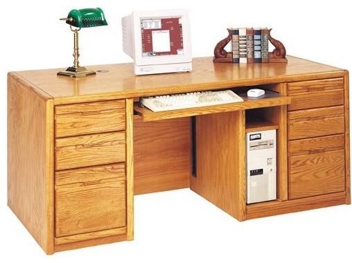 Martin Miranda Executive Computer Desk traditional-desks