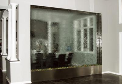 Indoor Custom Water Feature Ideas Contemporary Indoor
