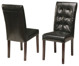 Two Chuck Dining Chairs traditional-dining-chairs
