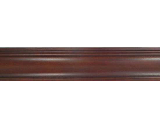 "O'Neil Cherry Crown Molding - O'NEIL CHERRY CROWN MOLDING 96""L WITH SIMPLE LINES,"