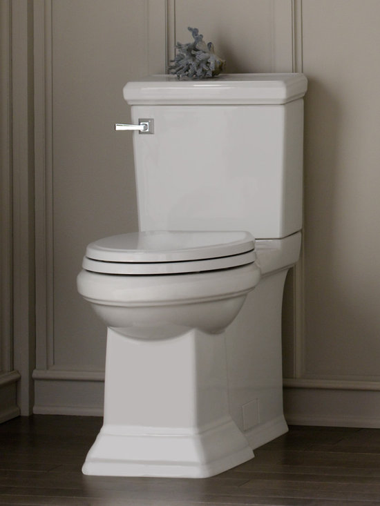 Town Square FloWise Concealed Trapway Right Height Elongated Toilet -