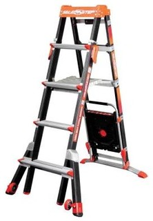 Little Giant Ladder Systems Ladder. Select Step 5 ft. - 8 ft. Fiberglass Ladder - Contemporary ...