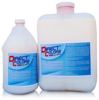 Residential concrete floor wax and polish 1 gallon for Residential concrete floor wax