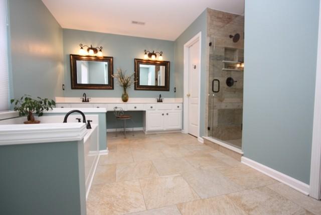 Tiffany Blue Bathroom Designs : Tiffany Blue Bathroom - Traditional - Bathroom - raleigh - by Boyles ...