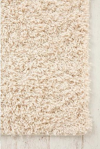 Shag Rug, Ivory modern-rugs