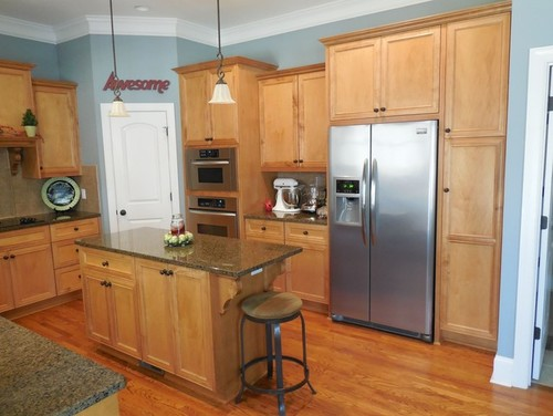 Need paint color suggestions for almond kitchen asap - Suggested paint colors for kitchen ...