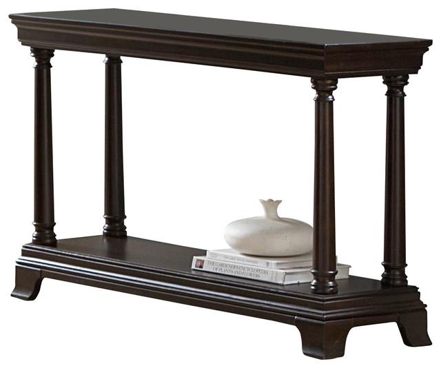 Homelegance Inglewood 48 Inch Sofa Table In Cherry
