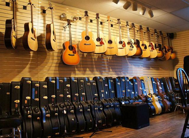 Guitar Hanger MX™ contemporary-home-theater