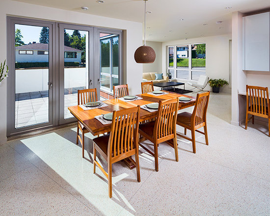 Dining Rooms | Brighten Your Meal - Private Residence in Calgary, AB | Home by One House Green | Innotech Windows Canada, Inc.