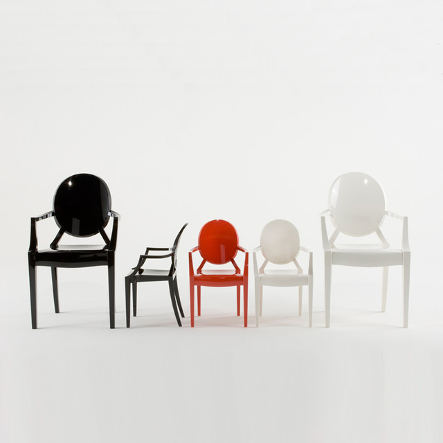 Kartell Lou Lou Ghost Armchair  Modern  Kids Chairs  by